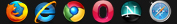 Firefox, Internet Explorer, Netscape, Opera, Safari, Google Chrome SETICO